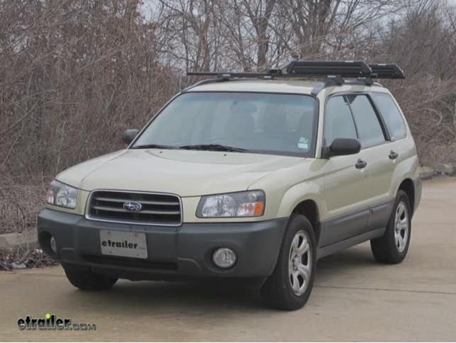 2005 Subaru Forester Trailer Hitch