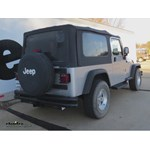 Trailer Hitch Installation - 2004 Jeep Wrangler - Curt
