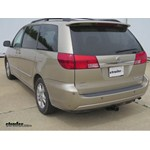 Trailer Hitch Installation - 2004 Toyota Sienna - Curt