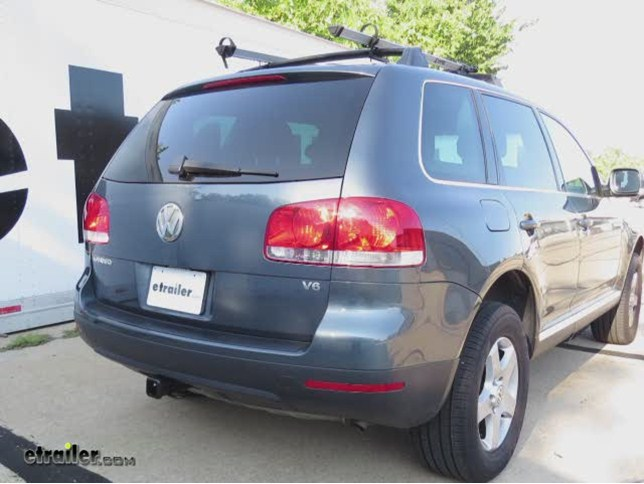 install trailer hitch 2004 volkswagen touareg 13220_644 trailer hitch installation 2004 volkswagen touareg curt video