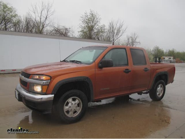 install trailer hitch 2005 chevrolet colorado 75607_644 trailer hitch installation 2005 chevrolet colorado draw tite Chevy Colorado Trailer Wiring Adapters at n-0.co