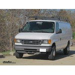 Trailer Hitch Installation - 2005 Ford Van - Curt