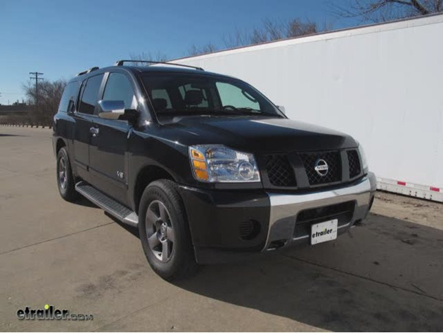 2005 nissan armada trailer hitch curt. Black Bedroom Furniture Sets. Home Design Ideas