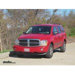 Trailer Hitch Installation - 2006 Dodge Durango - Curt