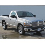 Trailer Hitch Installation - 2006 Dodge Ram - Curt