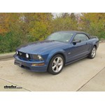 Trailer Hitch Installation - 2006 Ford Mustang - Draw-Tite