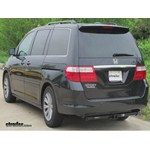 hitch recommendation for a 2006 honda odyssey for towing pop up camper. Black Bedroom Furniture Sets. Home Design Ideas
