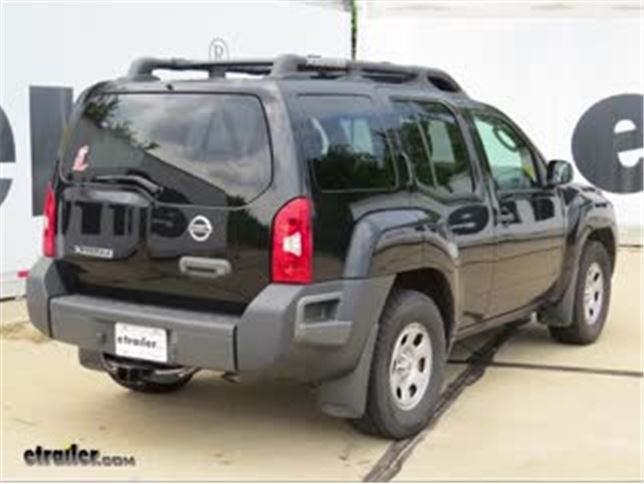 2006 Nissan Xterra Trailer Hitch Curt