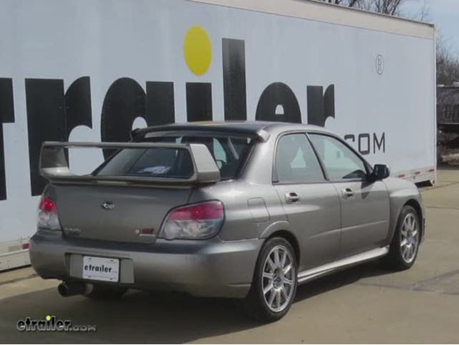 Trailer Hitch Installation 2006 Subaru Impreza Hidden Hitch