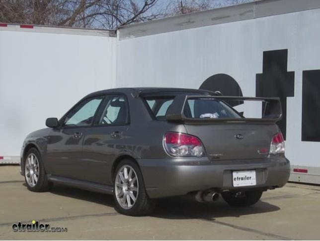 Trailer Hitch Installation 2006 Subaru Impreza Curt Video