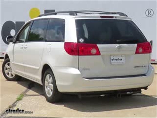 Etrailer Com Trailer Hitch Installation 2006 Toyota Sienna Video