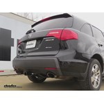 Trailer Hitch Installation - 2007 Acura MDX - Draw-Tite