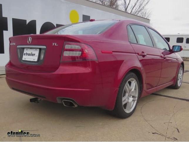 Acura TL Trailer Hitch Etrailercom - Acura tow hitch