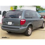 Trailer Hitch Installation - 2007 Dodge Caravan - Curt