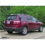 Trailer Hitch Installation - 2007 GMC Acadia - Draw-Tite