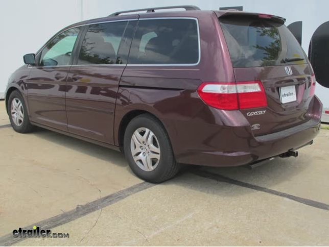 Trailer Hitch Installation   2007 Honda Odyssey   Curt Video | Etrailer.com