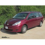 Trailer Hitch Installation - 2007 Toyota Sienna - Curt