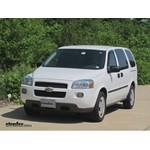 Trailer Hitch Installation - 2008 Chevrolet Uplander - Draw-Tite