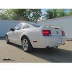Trailer Hitch Installation - 2008 Ford Mustang - Draw-Tite