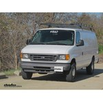 Trailer Hitch Installation - 2008 Ford Van - Curt