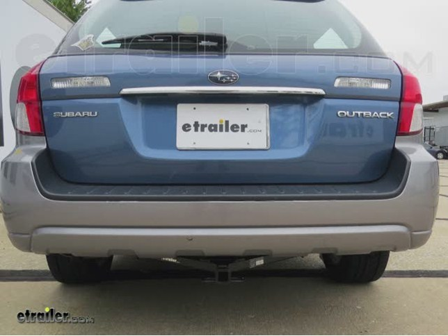 trailer hitch installation 2008 subaru outback hidden hitch rh etrailer com Best Hitch for Subaru Outback 2013 subaru outback trailer hitch wiring
