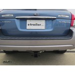 Trailer Hitch Installation - 2008 Subaru Outback Wagon - Draw-Tite