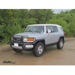 Trailer Hitch Installation - 2008 Toyota FJ Cruiser - Curt
