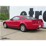 Trailer Hitch Installation - 2009 Ford Mustang - Draw-Tite