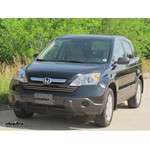 Trailer Hitch Installation - 2009 Honda CR-V - Curt