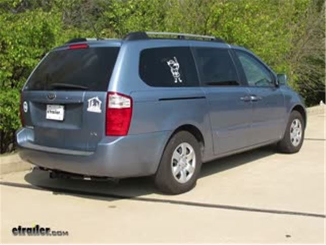 Trailer Hitch Installation 2009 Kia Sedona DrawTite Video