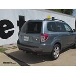 Trailer Hitch Installation - 2009 Subaru Forester - Draw-Tite