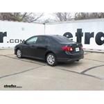 Trailer Hitch Installation - 2009 Toyota Corolla - Draw-Tite
