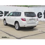 Trailer Hitch Installation - 2009 Toyota Highlander - Draw-Tite