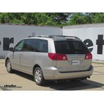 Trailer Hitch Installation - 2009 Toyota Sienna - Curt