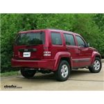 Trailer Hitch Installation - 2010 Jeep Liberty - Curt