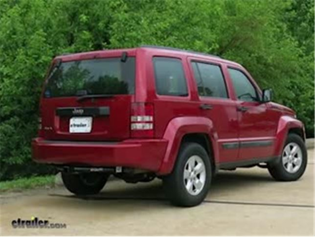 Jeep liberty trailer hitch etrailer speaker 1 today on our 2010 jeep liberty were going to be taking a look at and showing you how to install the curt class iii trailer hitch receiver sciox Gallery
