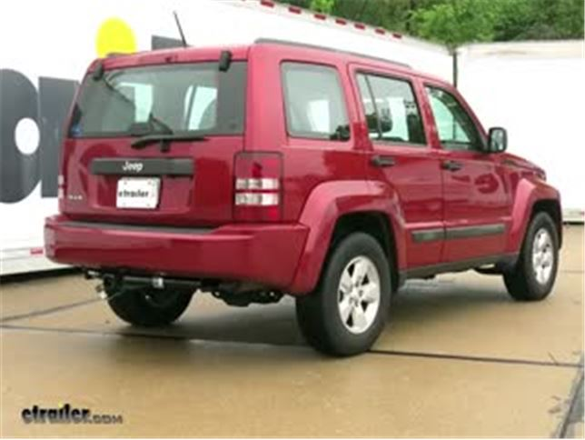 Trailer Hitch Installation   2010 Jeep Liberty   Draw Tite Video |  Etrailer.com