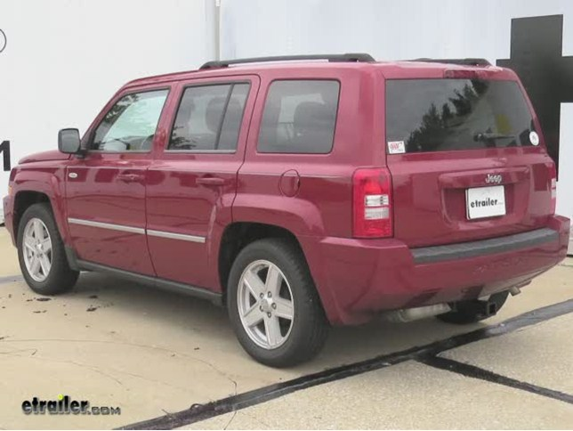 install trailer hitch 2010 jeep patriot 13548_644 trailer hitch installation 2010 jeep patriot curt video jeep patriot hitch wiring harness at mifinder.co