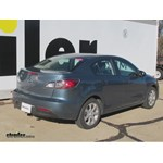 Trailer Hitch Installation - 2010 Mazda 3 - Draw-Tite