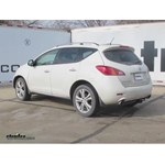 Trailer Hitch Installation - 2010 Nissan Murano - Curt