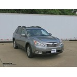 Trailer Hitch Installation - 2010 Subaru Outback Wagon - Draw-Tite