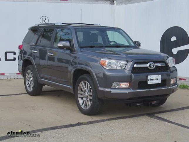 install trailer hitch 2010 toyota 4runner c31054_644 front mount trailer hitch installation 2010 toyota 4runner video  at bayanpartner.co