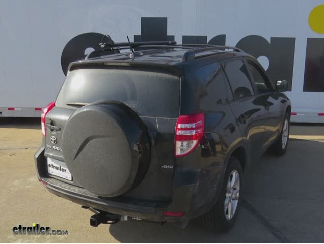 Trailer Hitch Installation 2010 Toyota RAV4 DrawTite Video - Install Trailer Hitch Rav4