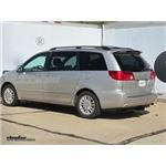 Trailer Hitch Installation - 2010 Toyota Sienna - Curt