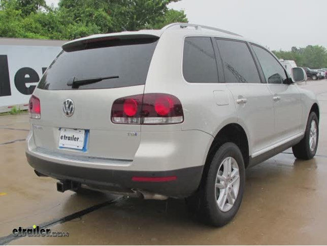install trailer hitch 2010 volkswagen touareg 13220_644 trailer hitch installation 2010 volkswagen touareg curt video
