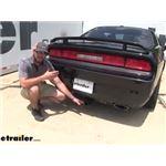 Curt Trailer Hitch Installation - 2011 Dodge Challenger