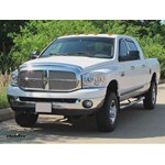Trailer Hitch Installation - 2011 Dodge Ram - Curt