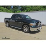 Trailer Hitch Installation - 2011 Dodge Ram Pickup - Draw-Tite