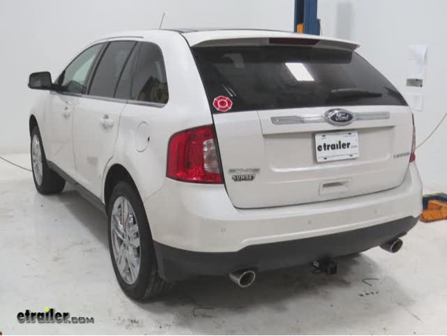 Trailer Hitch Installation  Ford Edge Draw Tite Video Etrailer Com