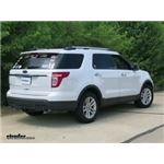 Trailer Hitch Installation - 2011 Ford Explorer - Draw-Tite